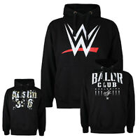 WWE - Official Mens Pullover - Hoodies - WWE Logo - Balor Club Austin 3:16