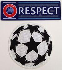 Lot de 2 patchs UEFA RESPECT Ligue des champions  2018 / 2019