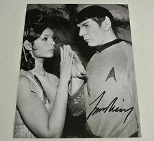 DECEASED 2015 LEONARD NIMOY Autographed Star Trek TV Series Photograph AUTOGRAPH