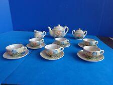 VINTAGE 17 PIECE DOLL/ CHILD CHINA TEA SET- JAPAN