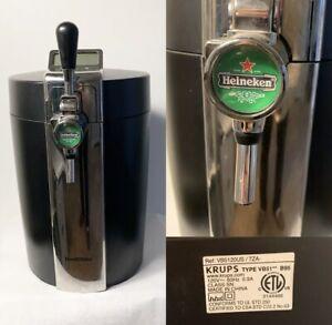 Krups Beertender B95 Mini Draught Keg Home Beer Tap System Chiller & Dispenser