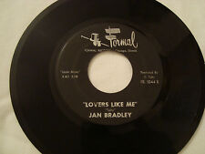 JAN BRADLEY MAMA DIDN'T LIE LOVERS LIKE ME SUPER RARE SOUL BLACK FORMAL LABEL