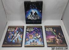 Rare STAR WARS Trilogy (6-DVDs) EPs IV - V - VI Special Ed + Orig HAN SHOOTS 1st