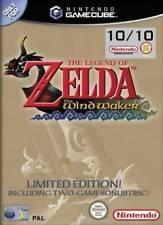 Zelda Wind Waker Ltd Ed inc Bonus Disc for GameCube and Wii Game - AUS SELLER