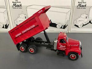 First Gear 1:34 Mack B-61 Dump Truck 19-2082 Kerwin
