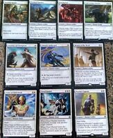 ***White Human Collection*** Tribal Deck Commander MTG Rare Magic Cards, Lot #94