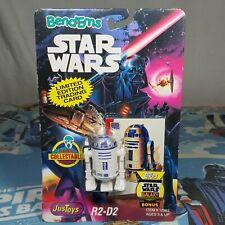 Yoda The Jedi Master Star Wars Bend-ems Just Toys Vintage Action Figure 1994