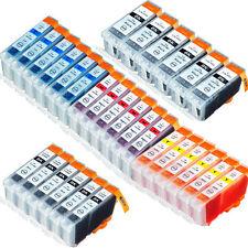 30X Druckerpatronen für Canon PGI-5BK CLI-8 Pixma IP4300 MP510 MP600 MP610 MX700