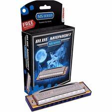 NEW Hohner 595BX-F System Blue Midnight German Diatonic Harmonica, Key of F