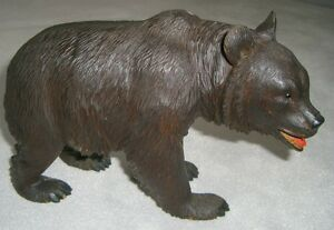 Circa 1950 Black Forest (Brienz) Walking Bear
