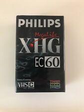 Philips XHG EC60 Megalife PAL / SECAM 60 Minute VHS-C Camcorder Tape