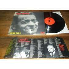 SERGE REGGIANI - Poetes 2 et 3 Double LP ORG French Press Polydor 74'