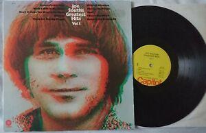 Joe South - Joe South's Greatest Hits Vol. I. LP Vinyl 1970 Capitol SM-450 Rock