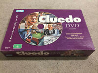 Cluedo DVD Board Game Parker Brothers 2005 Complete Vintage Hasbro Classic Retro