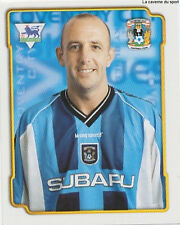 N°147 GARY McALLISTER COVENTRY CITY.FC STICKER MERLIN PREMIER LEAGUE 1999