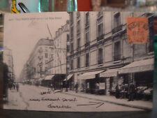 cpa 75 paris rue didot animee epicerie commerces