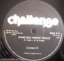 "CONTACT-U ~ Dancing Inner Space ~ 12"" Single"