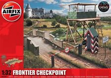 Airfix A06383 Frontier Checkpoint Plastic Kit 1/32 Scale FREE T48 Post