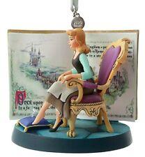 Disney Store 2020 Cinderella Fairytale Moments Christmas Sketchbook Ornament Nwt