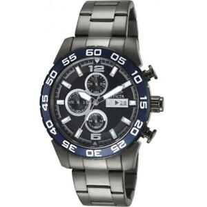 Invicta Specialty 13677 Men's Round Gunmetal Chronograph Date Analog Watch