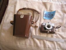 Vintage Voigtlander Ultramatic CS Camera Body, Manual and Case