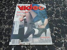 SEPT 1985 VIDEO ( home video ) magazine