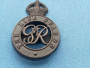The Life Guards Officers Service Dress cap badge.2.