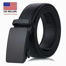 2020 Men's belt Automatic Ratchet Buckle Genuines Leather Belts