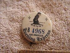 Los Angeles Evening Express Benny D7465 Advertising Pin Pinback