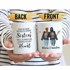 Best Sister Coffee Mug Best Sister Gift Long Distance Sisters Gift Sisters Mug