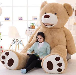 Giant Life Size Teddy Bear Skin Plush Toy Teddy Bear for Girlfriend Gift 260cm