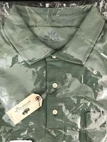 Peter Millar Mountainside Collection Cotton Blend Polo Shirt Large