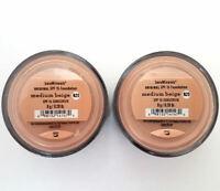 2 Pack of Bareminerals Original Medium Beige Escentuals Foundation 8g N20 XL