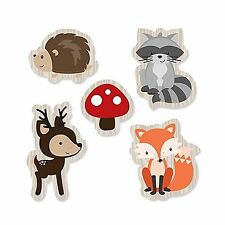 Woodland Creatures - DIY Shaped Baby Shower or Birthday Party Cut-Outs - 24 C...