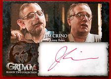 GRIMM - JIM CRINO (RED INK) (Leroy Estes) - AUTOGRAPH CARD (JCA)