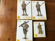 Hat British and Australian x 4 , infantry heavy weapons 1/72