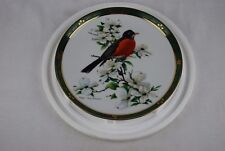 Robin - Danbury Mint The Songbirds of Roger Tory Peterson 23kt Gold Trimmed