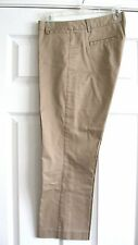 J CREW City fit stretch Chino Cafe Capri Crop Pant 8