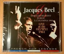 JACQUES BREL Live At The Olympia 1961 (CD neuf scellé/sealed)