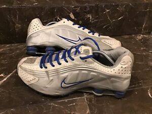 Nike Shox Size 11.5 Silver,white,blue, Running Shoes