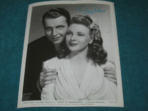 Universal Studios THE GHOST OF FRANKENSTEIN Movie Still SIGNED Evelyn Ankers