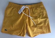 Lacoste Mens Swim Shorts Size M 77% Cotton 23% Polyamide