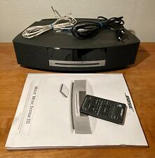 BOSE WAVE Music System III 3, DAB FM CD MP3 AUX +Remote / Fernbedienung, Manual