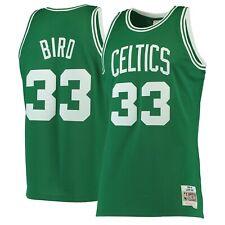 Бостон Селтикс Ларри Берд Mitchell Ness Kelly зеленый 1985-86 Nba Swingman Jersey