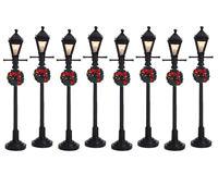 LEMAX 64500 Gas Lantern Street Lamp  Weihnachtsdorf Winterdorf Modellbau