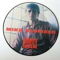 """Mike Oldfield - Family Man - Vinyl 7"""" Picture Disc Single Original EX+"""