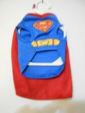 SIZE XS Male Pet FUN Halloween Costume NEW W/Tags Superman Superhero Outfit