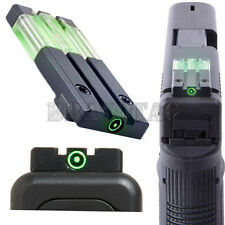 Meprolight FT Bullseye Glock Reflex Rear Sight Tritium Fiber-Optic Green-Dot