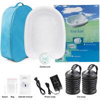 Ionic Detox Foot Bath Cleanse Spa, Ion Detox Kit,ion Detox Machine W/ Tub,Array