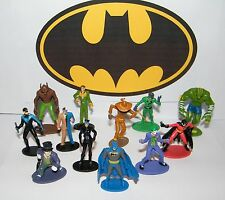 Batman Party Favors Set of 12 Figures with All the Classic Characters Joker Etc